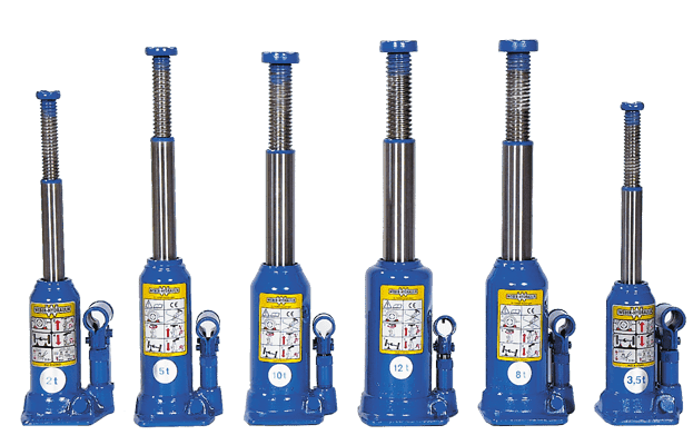 Hydraulische Wagenheber Weber Hydraulik