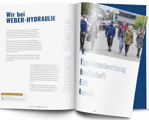 WEBER-HYDRAULIK Unternehmensbroschüre