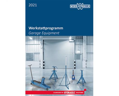WEBER-HYDRAULIK Werkstattprogramm 2021